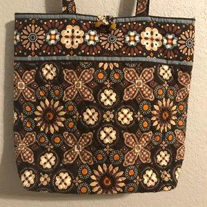 Vera Bradley Canyon Pattern Cotton Tote